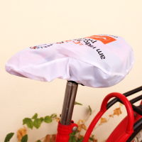 Waterproof Polyester Screen Printed Saddle Cover for Mountain Bike Bicycle