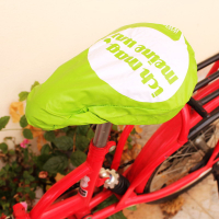 Custom Waterproof Outdoors Cycling Soft PVC Bike Bicycle Seat Cover