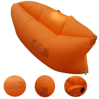 "Outdoor Inflatable Air Sleep Sofa Air Filled Balloon Bed Couch 90.6"" L x 27.6"" W"