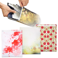 Custom Colorful Sublimation Polyester Felt Document Bags